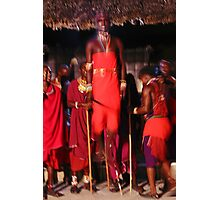 Samburu dancer, KENYA Photographic Print