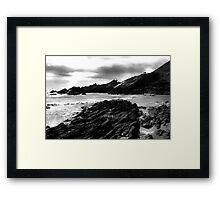 Collieston Beach, Aberdeenshire Framed Print