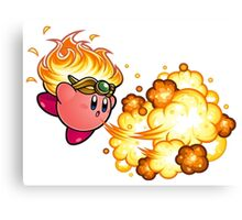 kirby fire power Canvas Print