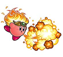 kirby fire power Photographic Print