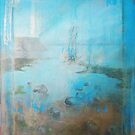 Distressed art by Carole Russell