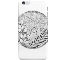 Zentangle®-Inspired Art - Tangled Zen iPhone Case/Skin