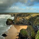 Bedruthan Steps Vista by David Wilkins