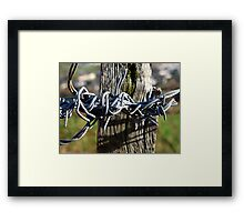 Wired Framed Print