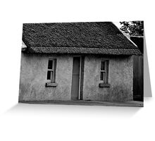 Thatch cottage Greeting Card