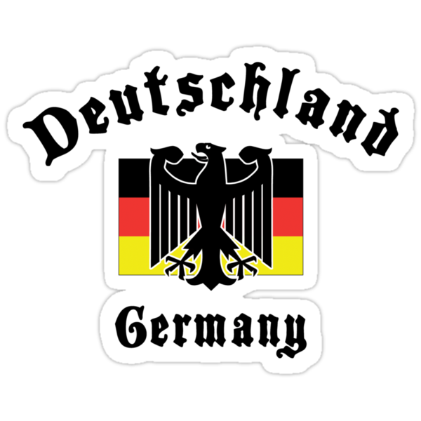 deutschland germany stickers by holidayt shirts redbubble. Black Bedroom Furniture Sets. Home Design Ideas