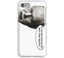 Freud jokes about your Oedipus complex iPhone Case/Skin