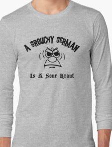 Funny German Long Sleeve T-Shirt