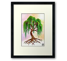 Weeping Tree of Life Framed Print