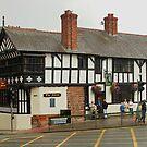 Falcon Pub, Chester, England by AnnDixon