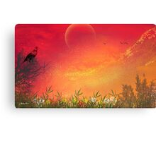 Morning Has Broken-  Art + Products Design  Canvas Print