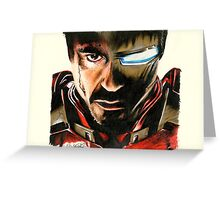 I Am Ironman Greeting Card