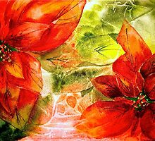 Christmas Poinsettia by © Janis Zroback
