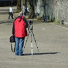 Man And Manfrotto by Fara