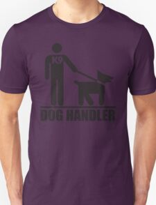 Dog Handler K9 Pictogram Unisex T-Shirt