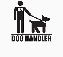Dog Handler K9 Pictogram Unisex T-Shirt