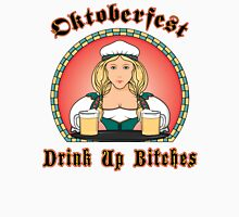 "Oktoberfest ""Drink Up Bitches"" Women's Fitted Scoop T-Shirt"