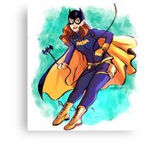 Batgirl Canvas Print