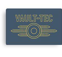 Fallout Vault Tec (Distressed) Canvas Print