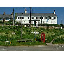 Village pub, Croft, Leicestershire, England, UK 1990s Photographic Print