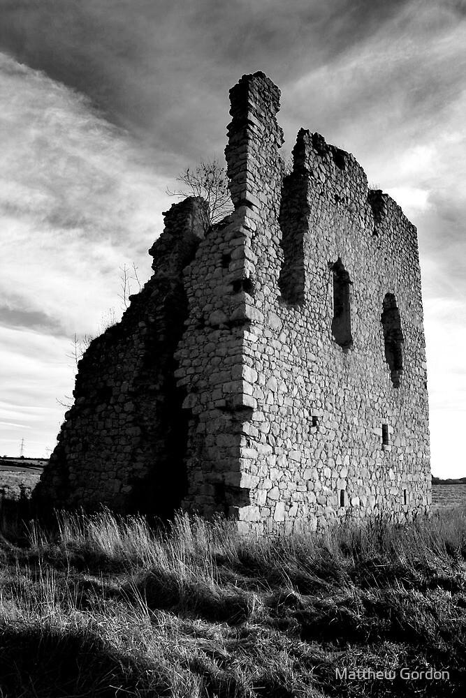 Ruined Castle - Kemnay, Aberdeenshire by Matthew Gordon