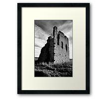 Ruined Castle - Kemnay, Aberdeenshire Framed Print