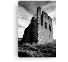 Ruined Castle - Kemnay, Aberdeenshire Canvas Print