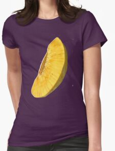 Fried Bread Fruit Womens Fitted T-Shirt