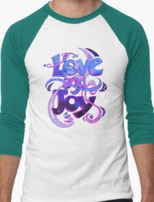 Love and Joy Men's Baseball ¾ T-Shirt