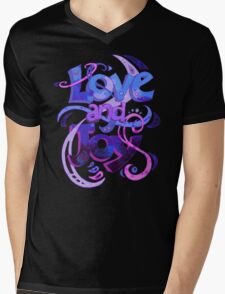 Love and Joy Mens V-Neck T-Shirt