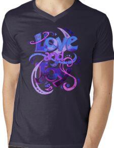 Love and Joy Mens V-Neck T-Shirt