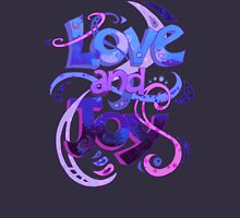 Love and Joy Womens Fitted T-Shirt