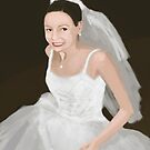 Smiling Bride by Jeff Kiess