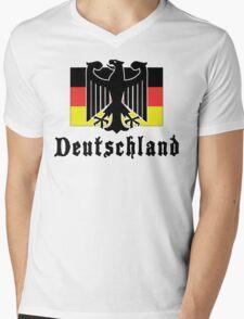 Deutschland Mens V-Neck T-Shirt