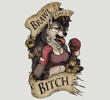 Brawl Like a Bitch Womens Fitted T-Shirt