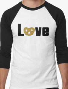 Love Pretzels Men's Baseball ¾ T-Shirt
