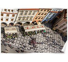 Prague's Old Town Square Poster