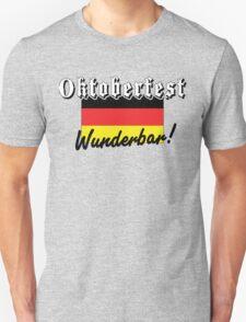 Oktoberfest Wunderbar Unisex T-Shirt