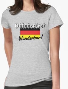 Oktoberfest Wunderbar Womens Fitted T-Shirt