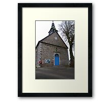 Postbox for the Pope  Framed Print