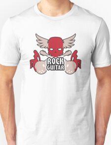 Rock Guitar Red T-Shirt