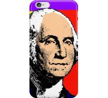 GEORGE WASHINGTON (POP-ART) iPhone Case/Skin