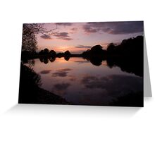 Reflection is beauty Greeting Card