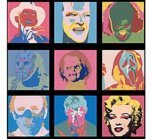 Andy Warhol Inspired Horror Icons Photographic Print