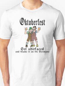 Oktoberfest Get ShitFaced Blame It On The Germans T-Shirt