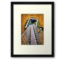 Breaking Boundaries Framed Print
