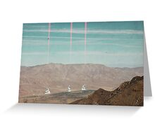 Reactors in the Valley Greeting Card
