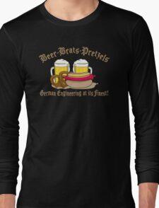 Funny German Engineering Long Sleeve T-Shirt