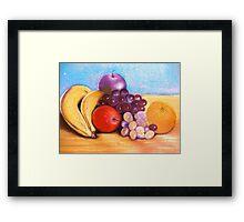 Fruitful frontispiece Framed Print