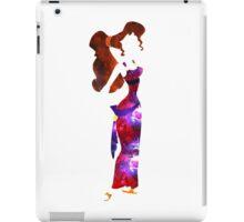 Galaxy Meg Silhouette iPad Case/Skin